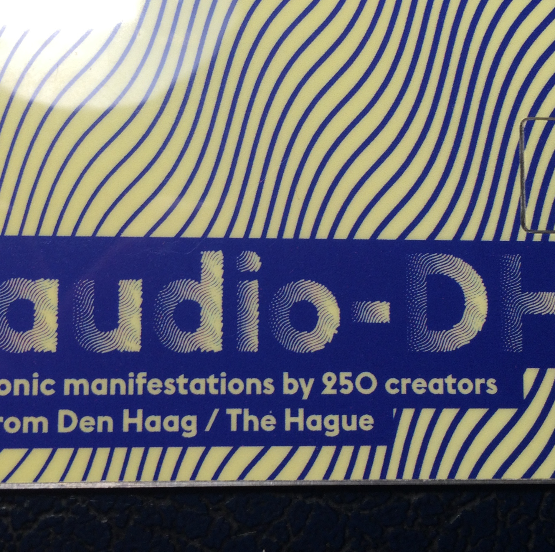 Premiere of Audio DH project